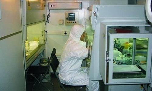 Một phòng thí nghiệm thuộc trung tâm Vector. Ảnh: Siberia Times.