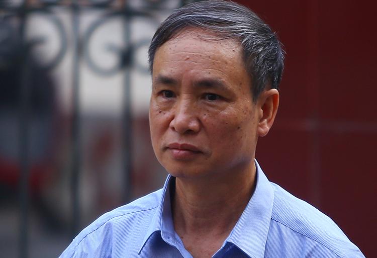 Cựu phó giám đốc Sở Giáo dục và Đào tạo Hà Giang Phạm Văn Khuông. Ảnh: Phạm Dự