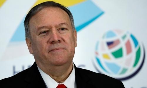 Ngoại trưởng Mỹ Mike Pompeo tại Washington ngày 13/9. Ảnh: Reuters.