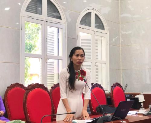 Sáng kiến Ngày hội tri ân các mẹ nhân ngày phụ nữ Việt Nam của cô Cù Minh Hương.