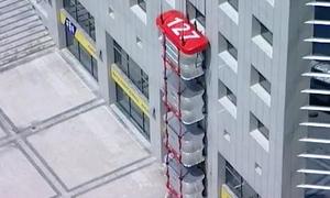 Hệ thống thoát hiểm di động trên các toà nhà