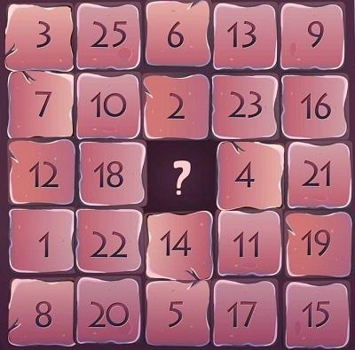 Năm câu đố điền số - 2