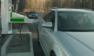 Hệ thống bơm xăng tự động tại Thụy Điển