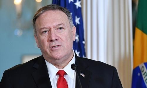 Mike Pompeo tại Washington ngày 13/9. Ảnh: AFP.