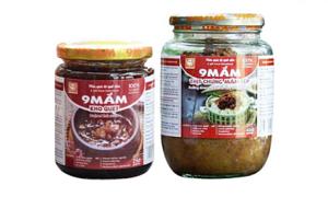 Giảm 10% bộ sản phẩm thịt chưng mắm tép và kho quẹt 9MẮM