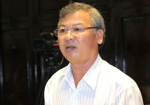 Ông Hồ Văn Năm tại Quốc hội. Ảnh: Trung tâm báo chí Quốc hội