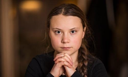 Greta Thunberg. Ảnh: The Guardian.