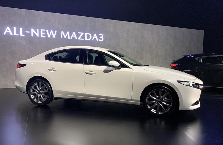 Mazda3 mới ra mắt tại Thái Lan. Ảnh: Ngọc Điệp
