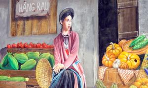 Hà Nội có làng bích họa đầu tiên