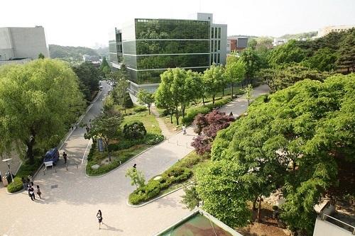 Một góc Đại học Seoul ở quận Gwanak, Seoul. Ảnh: Seoul National University