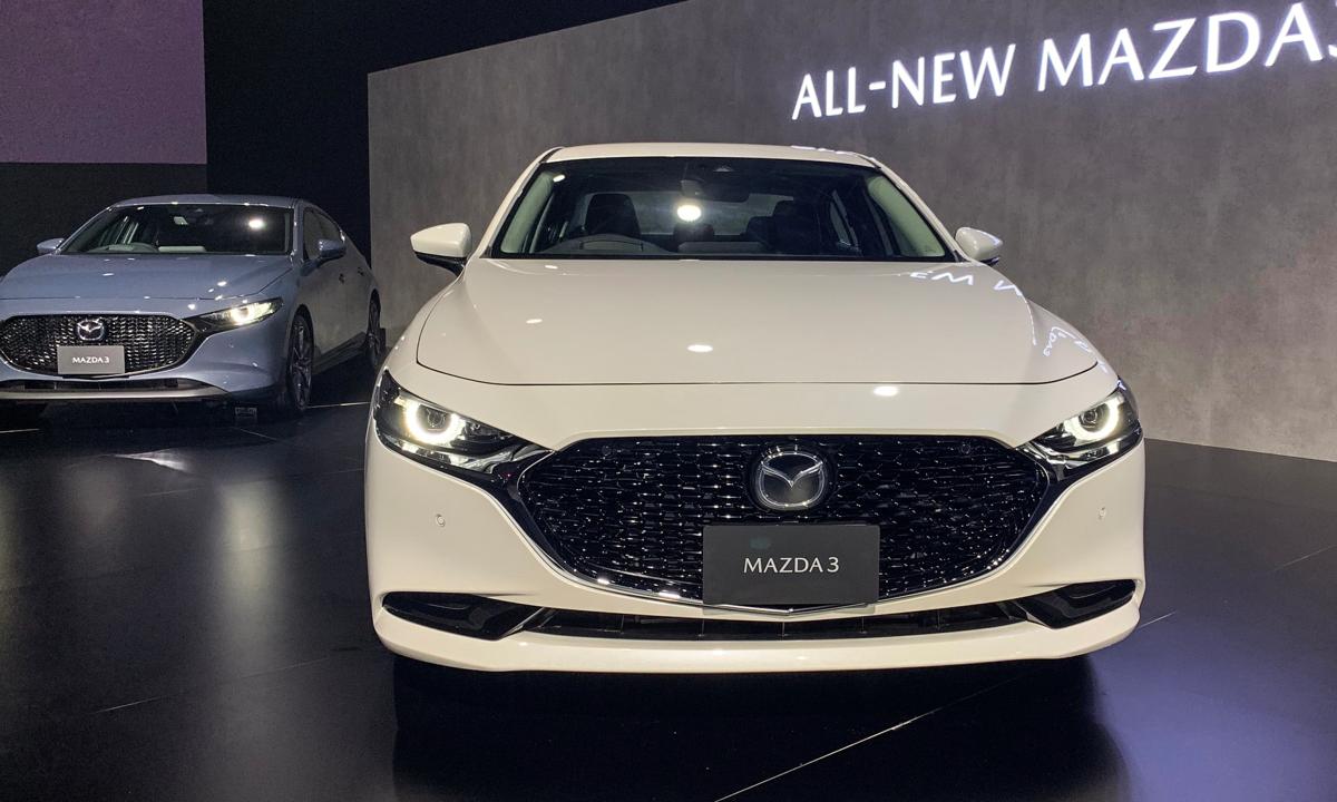 Mazda3 thế hệ mới ra mắt, tháng 10 về Việt Nam