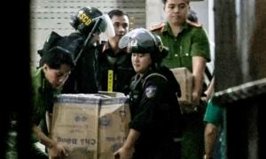 5 xe tải chở tài liệu công ty địa ốc Alibaba