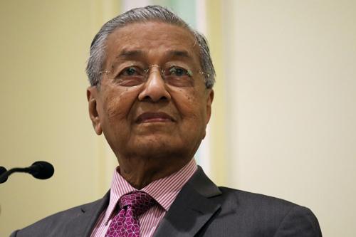 Thủ tướng Malaysia Mahathir Mohamadtrong buổi ra mắt Khung Chính sách đối ngoại của Malaysia mới tại thành phố Putrajaya hôm 18/9. Ảnh: Reuters.