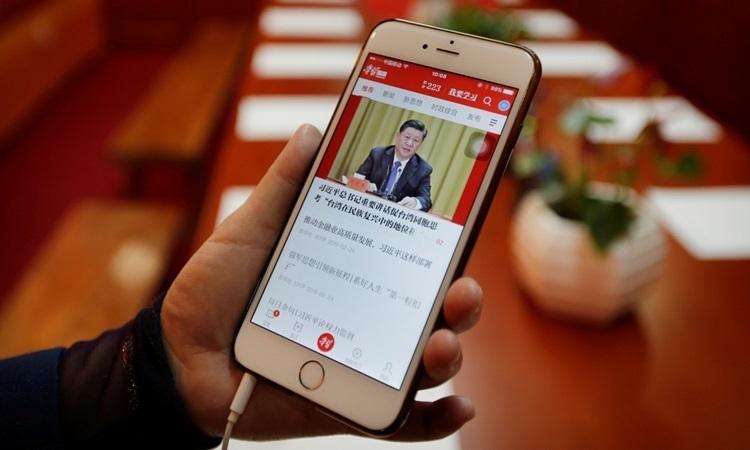 Nhà báo Trung Quốc phải thi tìm hiểu tư tưởng ông Tập