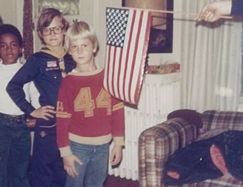 Richard (áo đỏ) khi còn nhỏ tuổi. Ảnh: Free Richard Wershe Jr/Facebook.