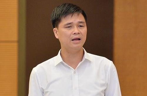 Phó chủ tịch Tổng liên đoàn Lao động Việt Nam Ngọ Duy Hiểu. Ảnh: Trung tâm báo chí Quốc hội