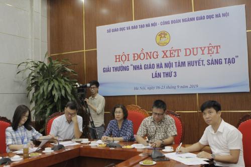 Cô Nguyễn Thị Bích Diệp, trường Tiểu học Tân Mai, quận Hoàng Mai.