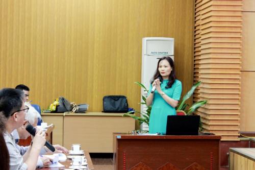 Cô giáo Đỗ Thị Thủy, trường PTCS Nguyễn Đình Chiểu.