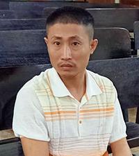 Bị cáo Khánh tại tòa. Ảnh: Đức Hùng