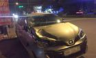 Ôtô 5 chỗ tông hai thanh niên