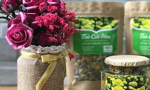 Tặng trà thơm khi mua trà hoa cúc