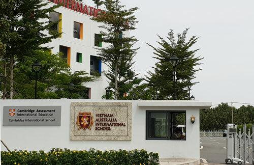Cơ sở Sala (quận 2) của trường Quốc tế Việt Úc. Ảnh: Mạnh Tùng.