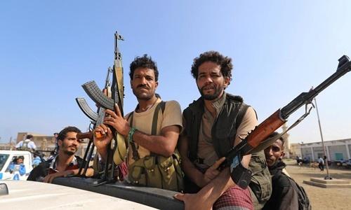 Phiến quân Houthi ở Yemen. Ảnh: Reuters.