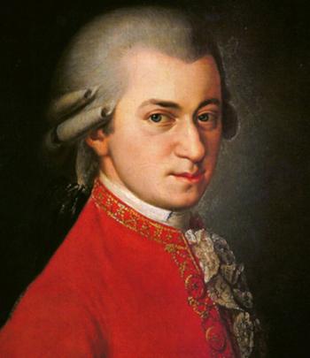 Chân dung nhà soạn nhạc Mozart. Ảnh: Biography.