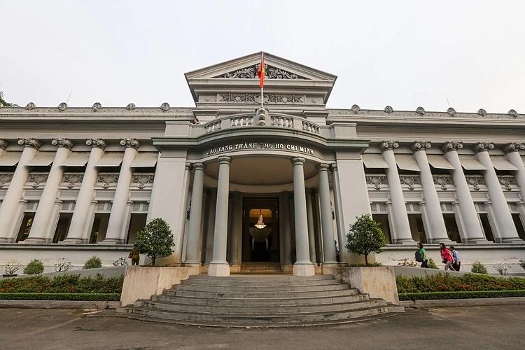 Bảo tàng TP HCM hiện hữu trên đường Lý Tự Trọng, quận 1. Ảnh: Quỳnh Trần