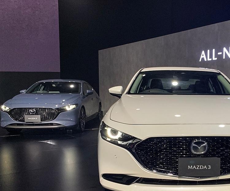 Mazda3 thế hệ mới tại Thái Lan. Ảnh: Ngọc Điệp