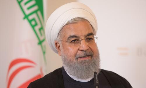 Tổng thống Rouhani trong một cuộc phỏng vấn năm 2018. Ảnh: Reuters.