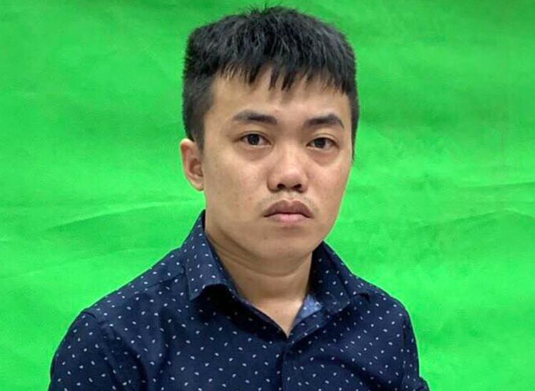 Nguyễn Thái Lĩnh hôm bị bắt giam. Ảnh: Công an cung cấp.