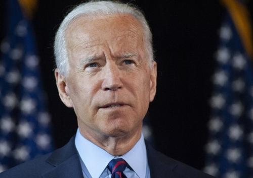 Cựu phó tổng thống Mỹ Joe Biden tại Delaware ngày 24/9. Ảnh: AFP.
