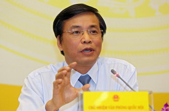 Tổng thư ký Quốc hội Nguyễn Hạnh Phúc. Ảnh: Trung tâm báo chí Quốc hội.
