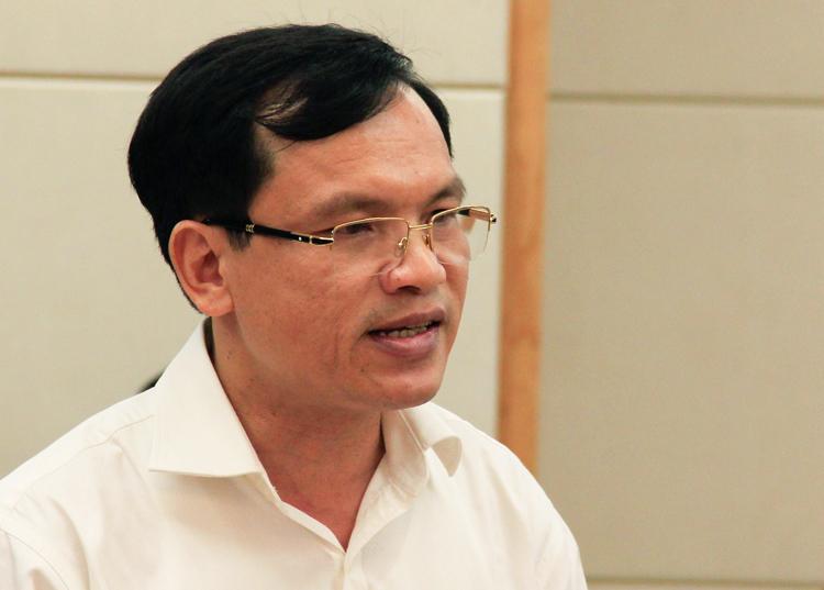 Cục trưởng Quản lý chất lượng Mai Văn Trinh. Ảnh:Dương Tâm