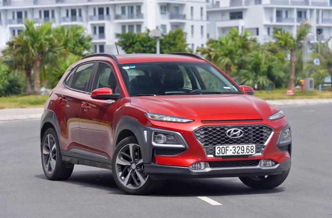 Hyundai Kona - crossover kiểu Âu cho gia đình trẻ Việt