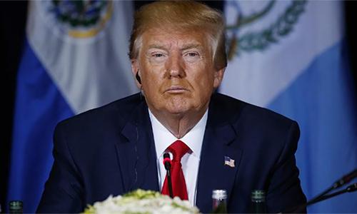 Tổng thống Mỹ Trump tại New York hôm 25/9. Ảnh: AP.