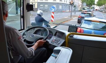 Tôi không bị bắt chạy nhanh khi lái xe buýt ở châu Âu