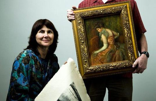 Stephanie Lazarus truy tìm được nhiều tác phẩm nghệ thuật bị đánh cắp.. Ảnh: Los Angeles Weekly.