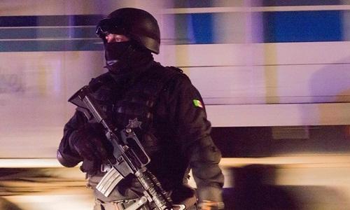 Cảnh sát Mexico thực hiện nhiệm vụ tại bang Nayarit. Ảnh: AFP.