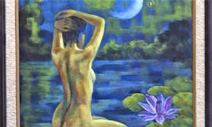 Hà Nội lần đầu triển lãm tranh nude