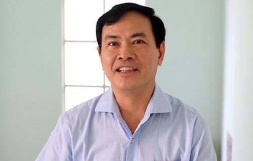 Ông Linh trong lần ra tòa hồi tháng 6. Ảnh: Hữu Khoa.
