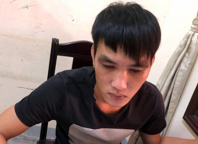 Bị can Lê Văn Hùng.