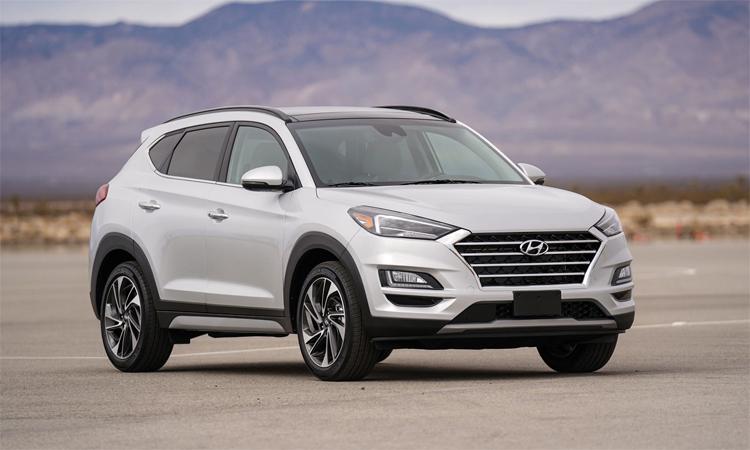 Tucson thế hệ hiện hành. Ảnh: Hyundai