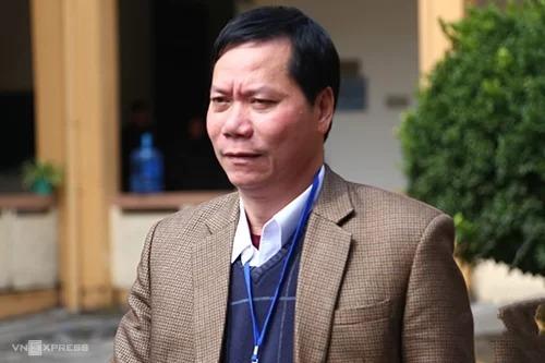 Ông Trương Quý Dương, cựu giám đốc Bệnh viện Đa khoa tỉnh Hoà Bình. Ảnh: Phạm Dự