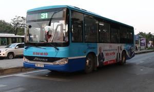 4 tuyến đường dự kiến có làn riêng cho xe buýt