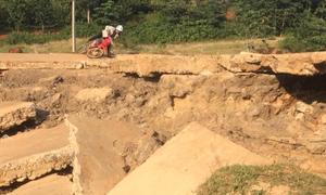 20 điểm cầu đường hư hỏng nặng chờ sửa chữa