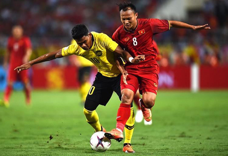 Shahrel bị các hậu vệ Việt Nam theo kèm, không ghi được bàn nào trong hai lần làm khách tại Mỹ Đình năm 2018.