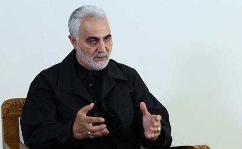 Thiếu tướng Soleimani trong cuộc phỏng vấn trên truyền hình quốc gia Iran đầu tuần này. Ảnh: AFP.