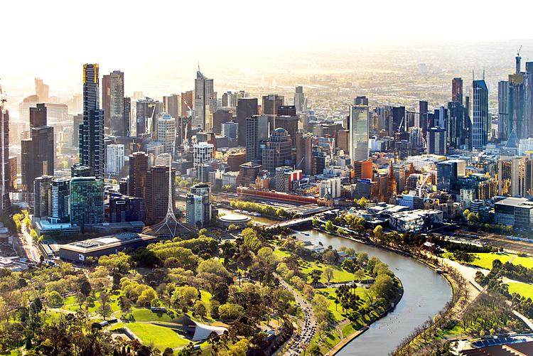 Thành phố Melbourne. Ảnh: Reddit